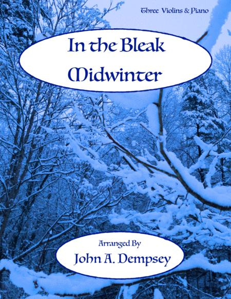 In the Bleak Midwinter (Quartet for Three Violins and Piano)