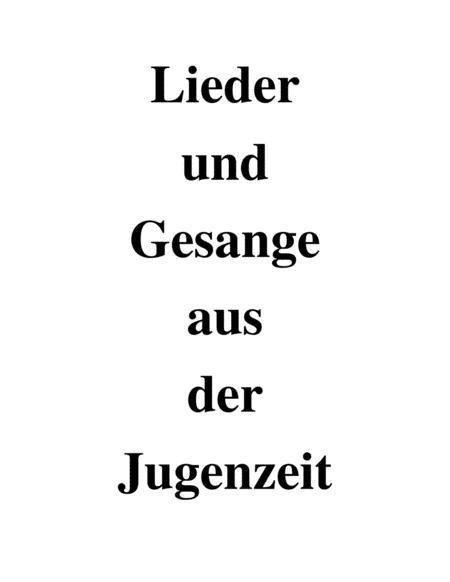 Lieder und Gesange - flute and piano