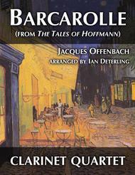 Barcarolle (for Clarinet Quartet)