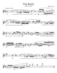 True Beauty (Flute Solo)