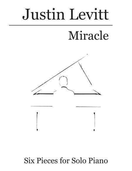 Justin Levitt Piano Solos - Miracle (Vol. V)