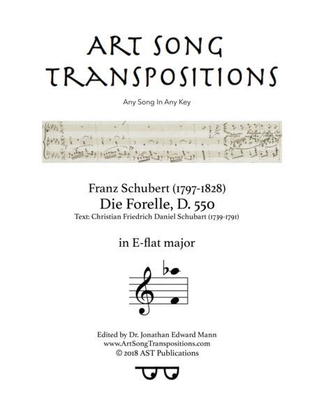 Die Forelle, D. 550 (E-flat major)