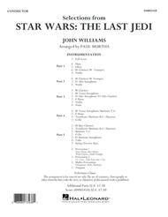 Selections from Star Wars: The Last Jedi - Conductor Score (Full Score)