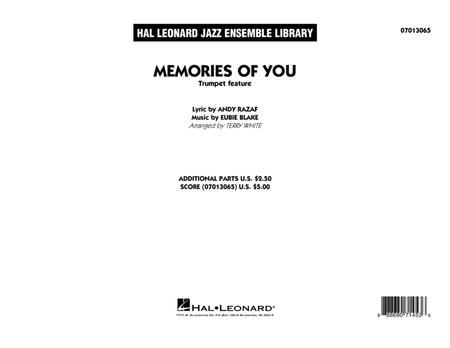Memories of You (Trumpet Feature) - Conductor Score (Full Score)