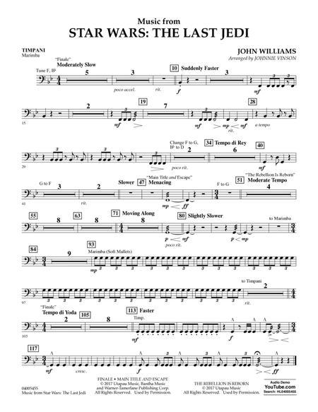 Music from Star Wars: The Last Jedi - Timpani