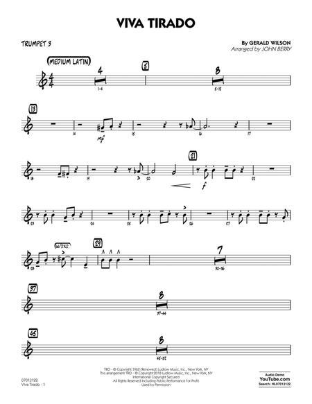 Viva Tirado - Trumpet 3