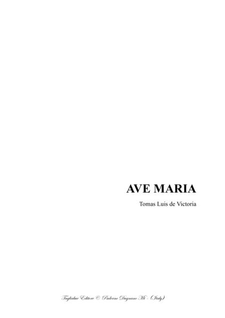 AVE MARIA - De Victoria