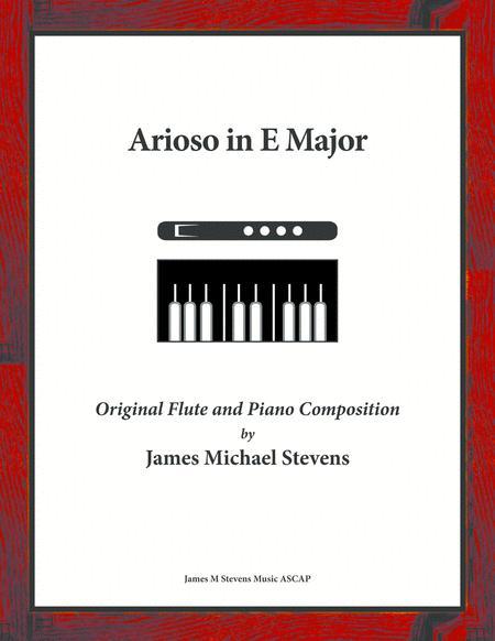 Arioso in E Major - Flute & Piano