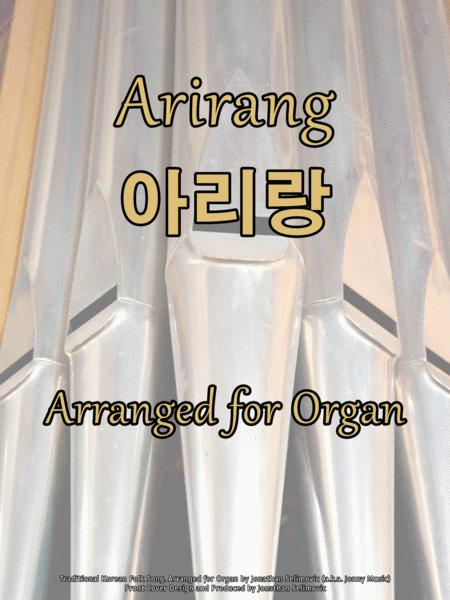 Arirang (Korean Folk Song) Arranged for Organ