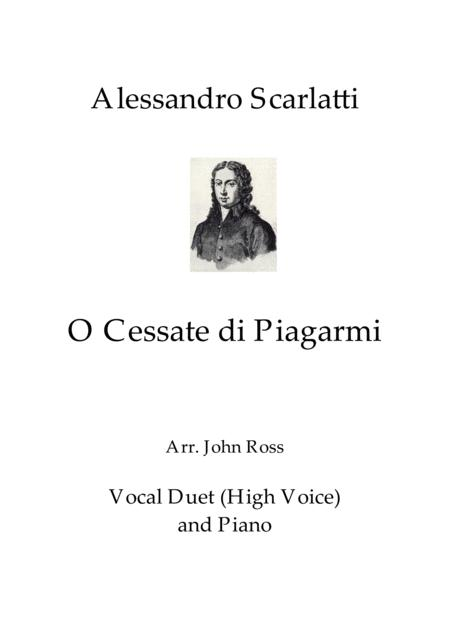 O Cessate di Piagarmi (Vocal duet)