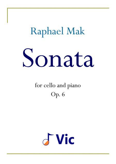 Cello Sonata, op. 6