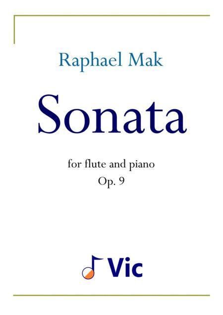 Flute Sonata, op. 9