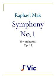 Symphony No. 1, op. 13