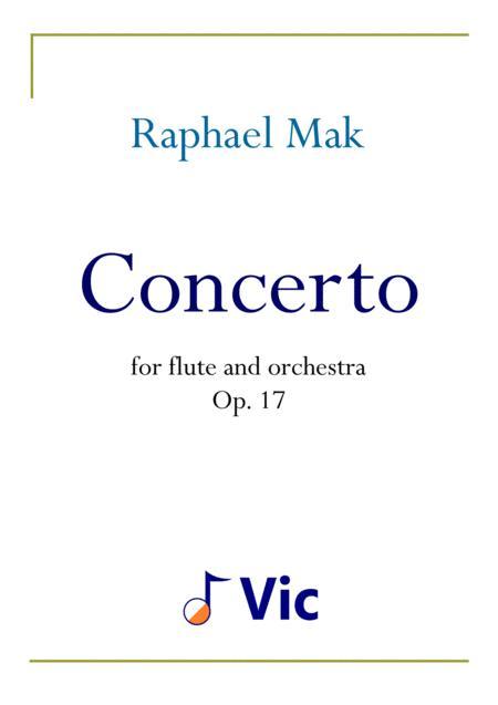 Flute Concerto, op. 17
