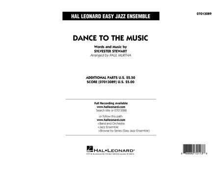 Dance to the Music - Conductor Score (Full Score)
