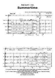 Summertime - Gershwin - Ballad - Brass Quintet + Voice - Arr. Thomas H. Graf