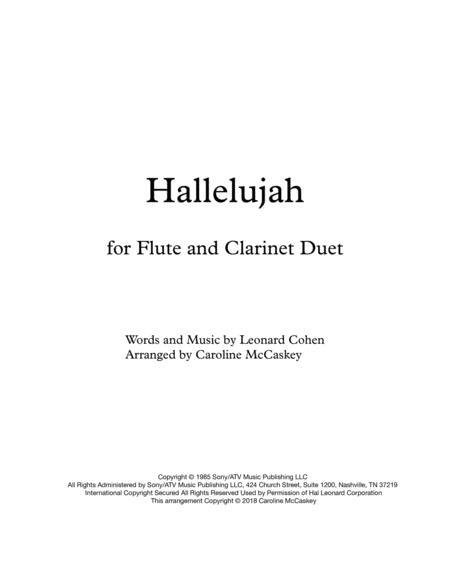 Hallelujah - Flute and Clarinet Duet