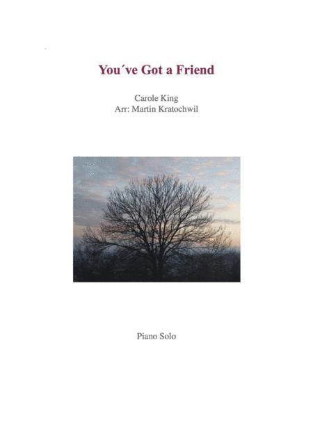 You've Got A Friend _ Piano Solo