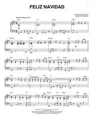 Feliz Navidad [Jazz version] (arr. Brent Edstrom)