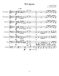 download wii sports theme sheet music by kazumi tokata sheet music