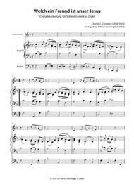 What a friend we have in Jesus - Welch ein Freund ist unser Jesus C-Instrument u. Orgel