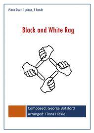 Black and White Rag