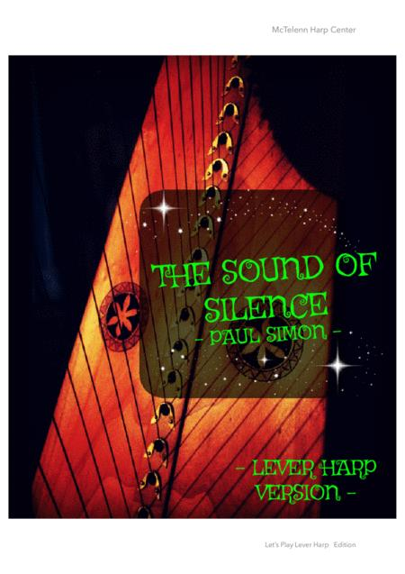 The Sound Of Silence - Paul Simon Cover - Solo Lever Harp Version By Eve McTelenn - Only Score