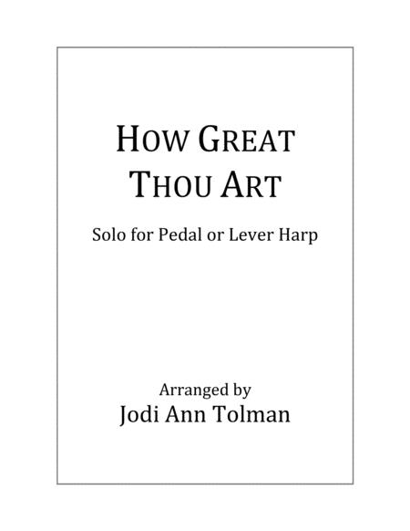How Great Thou Art, Harp Solo