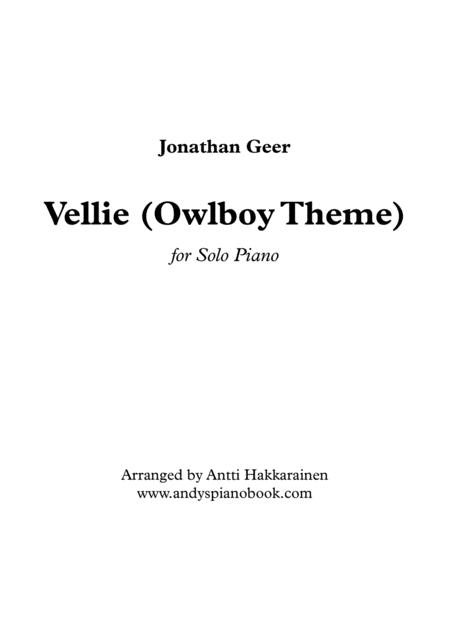 Vellie (Owlboy Theme) from Owlboy - Piano