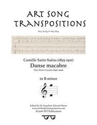 Danse macabre (B minor)