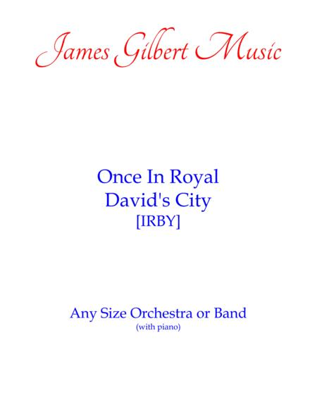 Once In Royal David's City (Any Size Church Orchestra Series)
