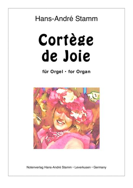 Cortege of Joy for organ