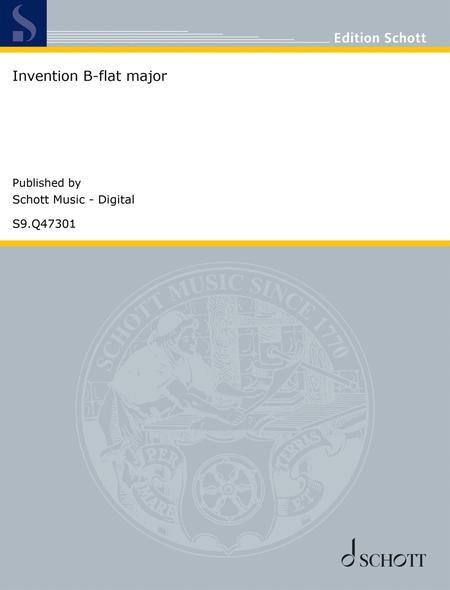 Invention B-flat major