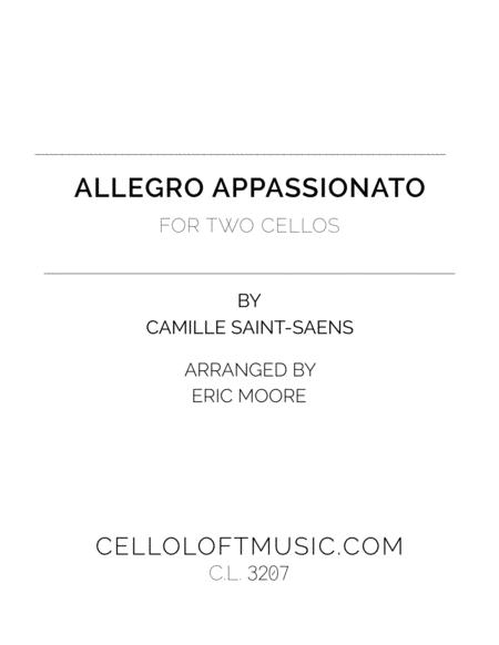 Allegro Appassionato for Two Cellos