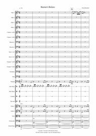Burnie's Bolero for School Orchestra