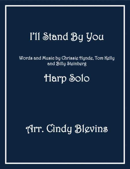I'll Stand By You, arranged for Lever Harp