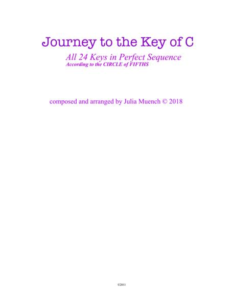 Journey to the Key of C : ALL 24 Keys in Perfect Sequence