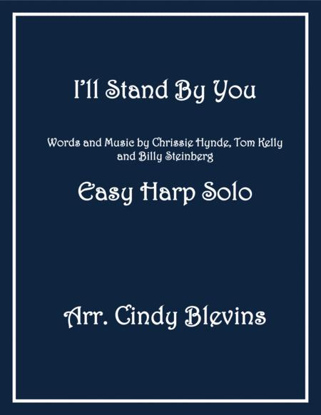 I'll Stand By You, arranged for Easy Harp