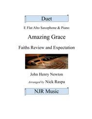 Amazing Grace - Duet - Eb Alto Sax and Piano
