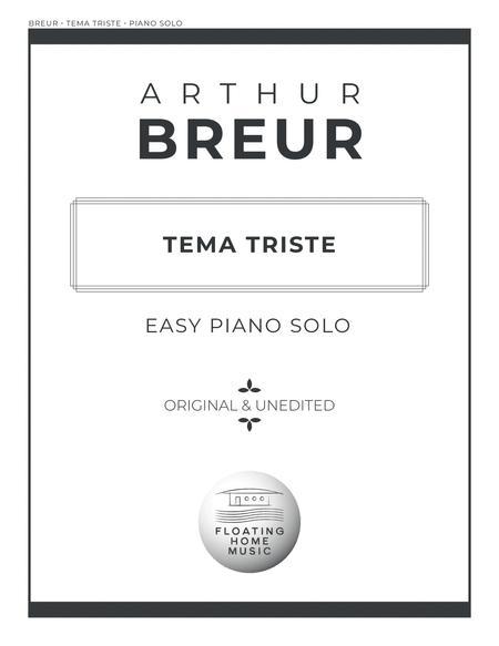 Tema Triste - Easy Piano Solo