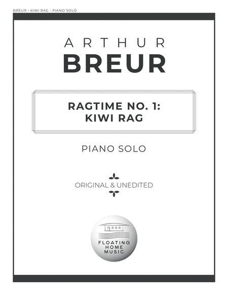 Ragtime No. 1: Kiwi Rag - Piano Solo