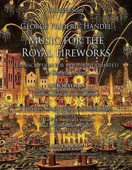 Handel – Music for the Royal Fireworks (for Saxophone Quartet SATB)