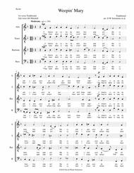 Weepin' Mary for ATBarB choir (with split basses at the end) (D minor)