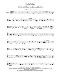 Hallelujah - (In the easy key of C) - Viola
