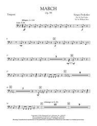 March, Op. 99 - Timpani