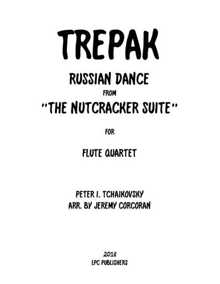 Trepak from The Nutcracker Suite for Flute Quartet