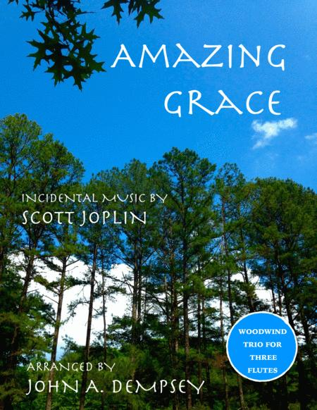 Amazing Grace / The Entertainer (Woodwind Trio for Flute)