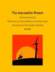 The Impossible Dream (Clarinet Quartet)