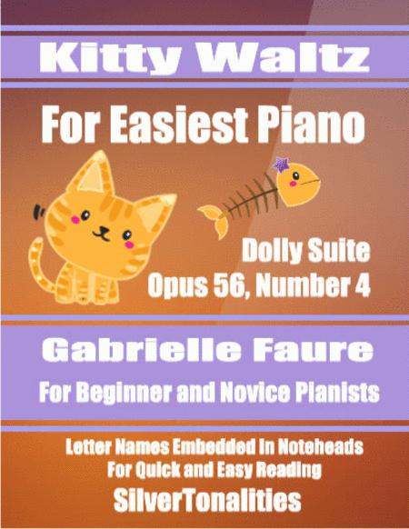 Kitty Waltz for Easiest Piano