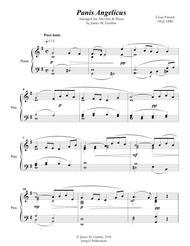 Franck: Panis Angelicus for Alto Sax & Piano